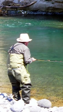 Fishing : Relax at the Turangi Bridge Motel